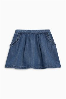 Ruffle Pocket Skirt (3mths-6yrs)