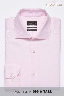 Signature Premium Fabric Regular Fit Shirt