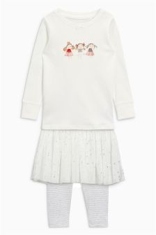 Fairy Pyjamas With Detachable Tutu (9mths-8yrs)