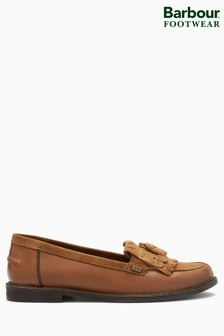 Barbour® Tan Tassle Loafer