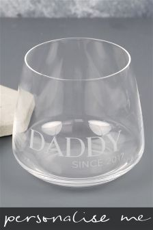 Daddy Since Personalised Tumbler By Lisa Angel