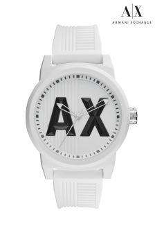 Armani Exchange Silicone Watch