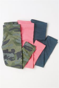 Leggings Three Pack (3-16yrs)