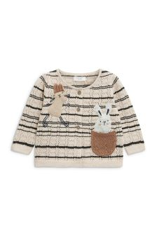 Bunny Pointelle Cardigan (3mths-6yrs)