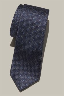Spot Patterned Tie