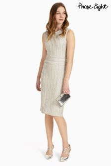 Phase Eight Silver Lucia Dress
