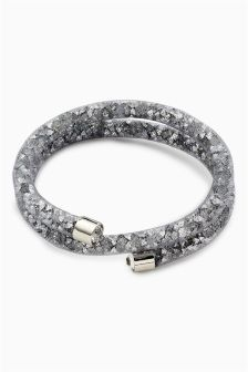 Crystal Effect Wrap-Around Bracelet