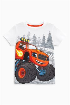 Short Sleeve Blaze T-Shirt (3mths-6yrs)