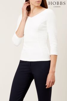 Hobbs White Clemence Top