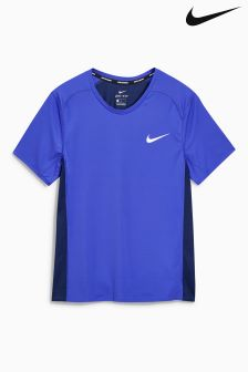 Nike Blue Miler T-Shirt