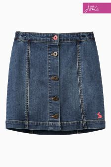 Joules Denim A-Line Skirt