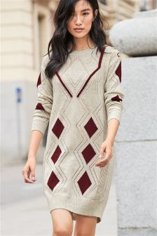 Argyle Pattern Tunic