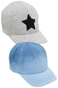 Ombre Caps Two Pack (Younger Boys)