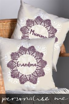 Personalised Recipient Cushion By Letterfest