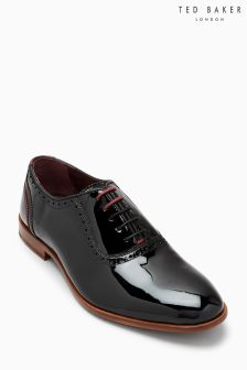 Ted Baker Black Anice Patent Oxford Shoe