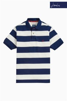 Joules Navy Stripe Classic Fit Filbert Polo