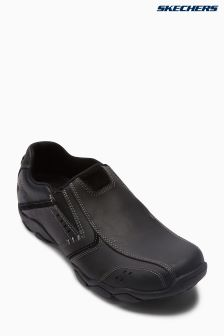 Skechers® Black Diameter Vaken Slip-On Shoe