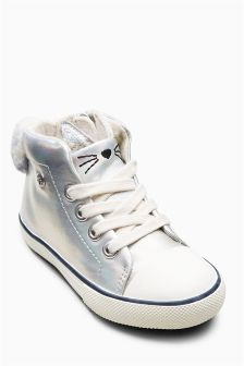 Cat High Tops (Younger Girls)