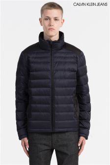 Calvin Klein Navy Padded Jacket