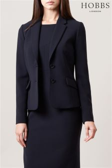 Hobbs Navy Catherine Jacket