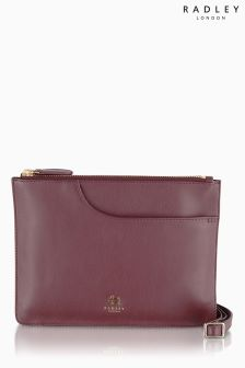 Radley Burgundy Pockets Across Body Bag