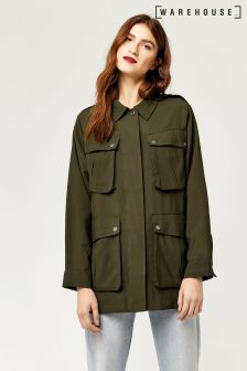 Warehouse Khaki Four Pocket Jacket