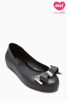 Mini Melissa Black Love Space Pump