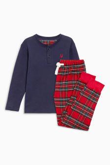Tartan Jogger Pyjamas (5-16yrs)