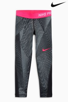 Nike Black/Pink Pro Training Legging