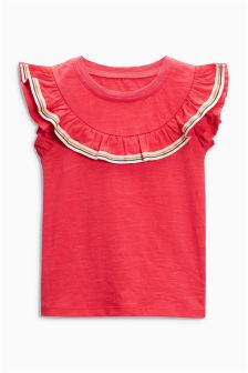 Frill Detail T-Shirt (3mths-6yrs)
