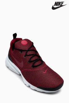 Nike Black/Team Red Presto Fly SE