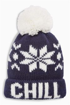 Chill Bobble Hat (Older Boys)