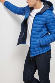 Down Fill Hooded Jacket