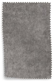 Distressed Velour French Grey Fabric Roll