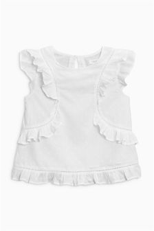 Ruffle Blouse (3-16yrs)