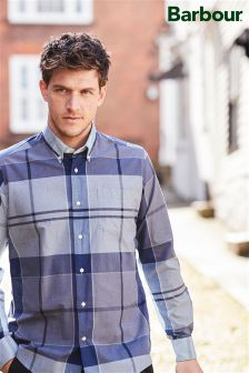 Barbour® Navy Arndale Check Shirt