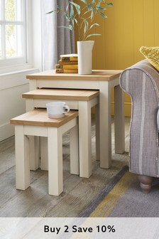 Set Of 3 Malvern Nest Of Tables