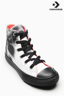 Converse Black/White Chuck Taylor All Star Hi
