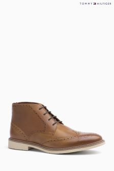 Tommy Hilfiger Brown Metro Chukka Boot