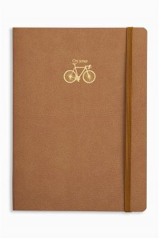 A5 On Your Bike Lined Notebook