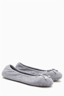 Touch Of Cashmere Luxury Ballet Slippers