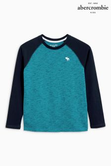 Abercrombie & Fitch Long Sleeve Raglan Tee