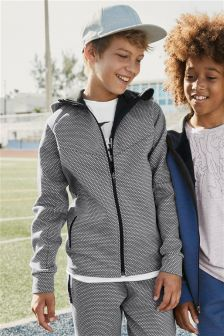 Mesh Print Sporty Zip Through (3-16yrs)