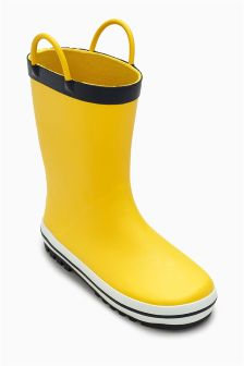 Handle Wellies (Younger Boys)