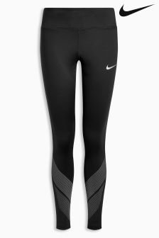 Nike Black Power Flash Racer Tight