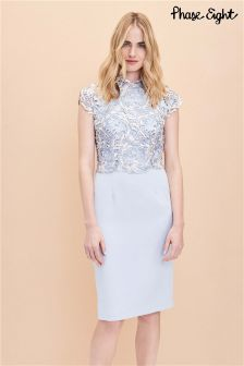 Phase Eight Mineral Josephina Lace Dress