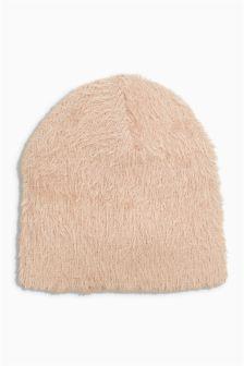 Eyelash Beanie Hat