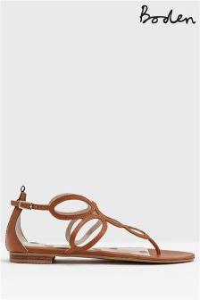 Boden Tan Circle Sandal