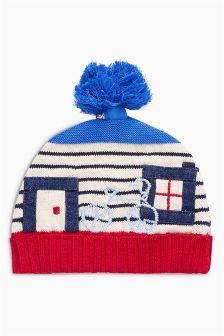 Knit House Hat (0mths-2yrs)