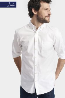 Joules White Classic Fit Lambert Shirt